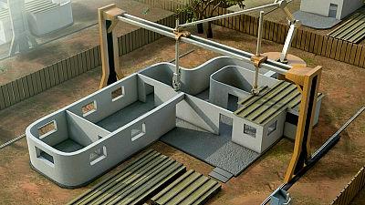 巨大な3Dプリンタを使い一軒家を20時間で建ててしまう「Contour Crafting」|GIGAZINE