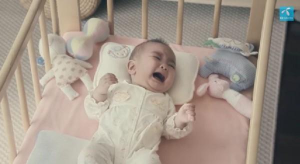 赤ちゃんが鳴き始めてしまい