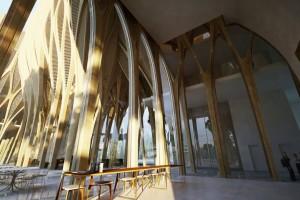 アンビルドの女王と呼ばれた建築家ザハ・ハディドの初めての木造設計