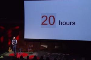 新しいスキルをゼロからある程度まで学習するのにかかる時間は20時間