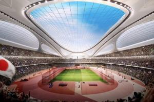 デザインそっちのけで勝手にすすめられている新国立競技場