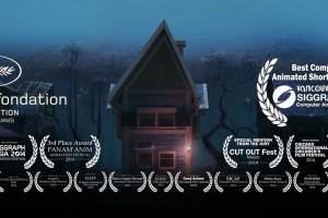家の擬人化?フルCGショートムービー「Home Sweet Home the film」