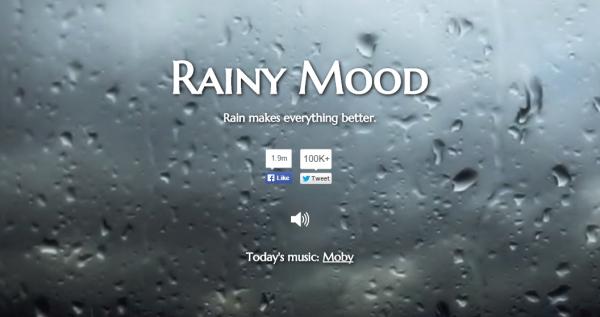 集中力が発揮できる魔法の音源『雨の音』