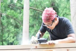 火事で全焼した西粟倉村『木工房ようび』の再起を応援しよう!