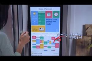 大型のタッチパネルを搭載したサムスンのスマート冷蔵庫が話題沸騰中!日本のスマート家電は世界で売れないの?