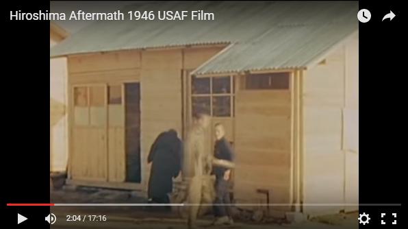原爆投下後の広島の仮設住宅は、トタン小屋ではなく木造の平屋!