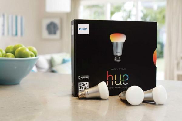 1600万色以上のカラーを表現できるLED電球「Philips hue」