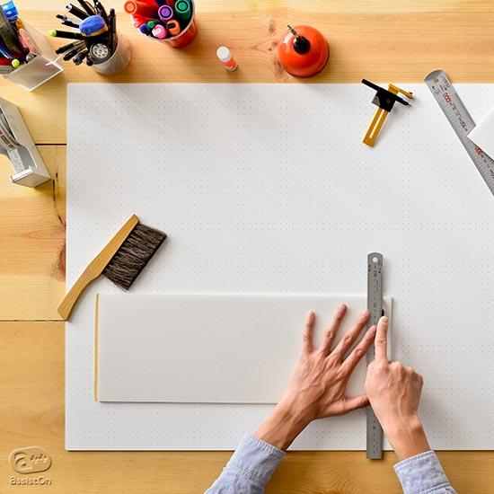 建築模型に欠かせないカッティングマットに、AssistOnの『The Cutting Mat』はいかが?