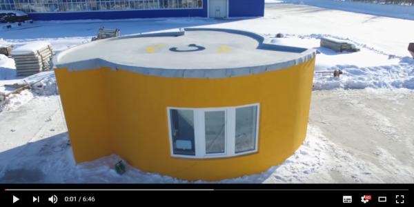 建築も素人革命の兆し?3Dプリンターで家1棟が完成!